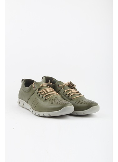 Tripy Deri Ayakkabı Yeşil